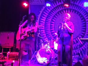 Human Hearts Trio + Daniel Carter & Rachel Righteousluv at the Shrine, April 28, 2016 / Photo by Cisco Bradley